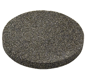 2.500in Diameter Porous Stone, 0.25in Thick