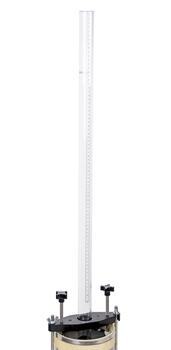 Manometers for Asphalt Permeameter