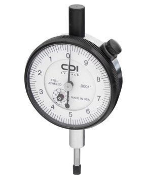 Mechanical Dial Indicator - 2 x 0.001in (Range x Divisions)