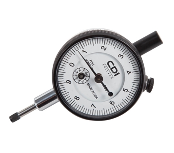 Mechanical Dial Indicator - 0.5 x .0001in (Range x Divisions)