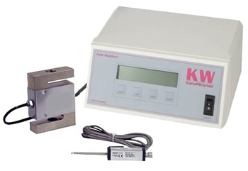 Two Channel Readout w/ 2in Displacement Transducer & 10,000lbf Load Cell