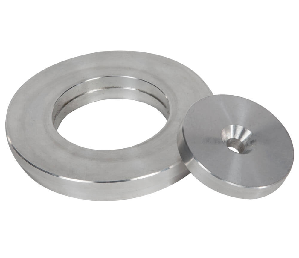 Adapter Ring and Extruder Disc Sets for Sample Ejectors